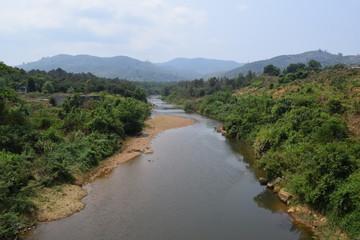 Dai Quay river in Vietnam