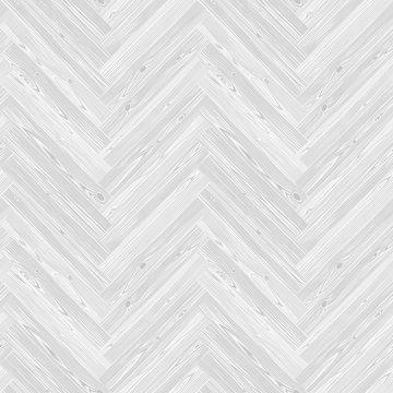 White Herringbone Parquet Floor Seamless Pattern