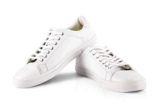 White pair of sneakers