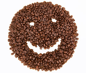 smile emotion coffee beans
