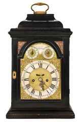 Wooden ancient clock from London