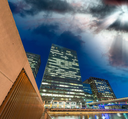Canary Wharf, London business district