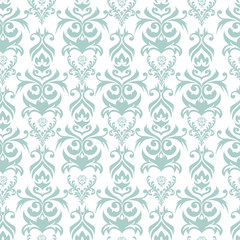 Seamless damask background