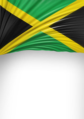 Flag Jamaica render, Jamaican Flag (3D Render)