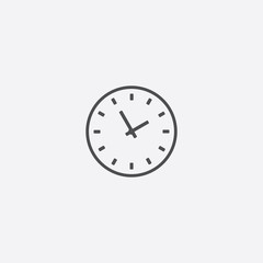 Time outline icon