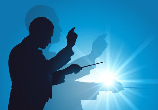 Chef d'orchestre - Musique