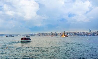 The trip on Bosphorus