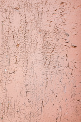 texture covered with cracked paint. Vintage wall texture background with copy space