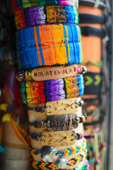 Hand-craft wristbands of various types and colors