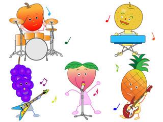 果物のコンサート