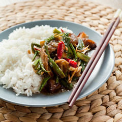 thai rice meal