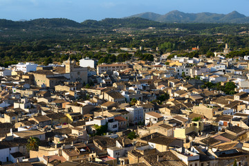 View of Arta. Majorca. Balearic Islands. Spain