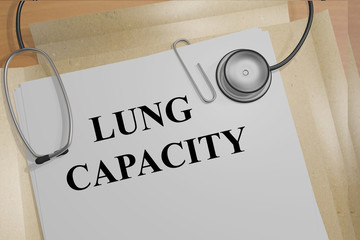 Lung Capacity concept
