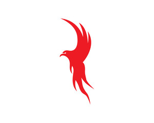 Wings bird eagle logo
