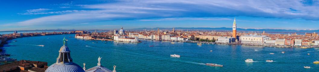 Foto op Plexiglas Venetie Panorama of Venice in Italy