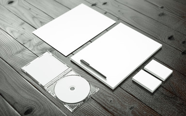 Business Equipment Mockup