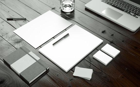 Startup Business Equipment Mockup
