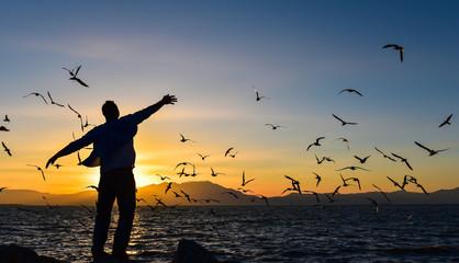 özgürlük,huzur ve martılar