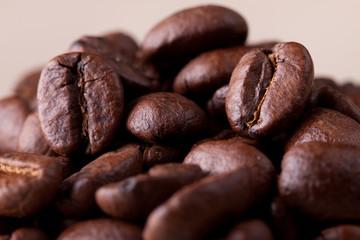 coffee beans macro.