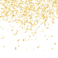 Background with confetti.