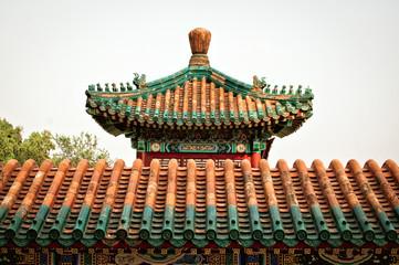 Крыша китайского храма