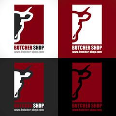 logo artisan boucher boucherie charcuterie