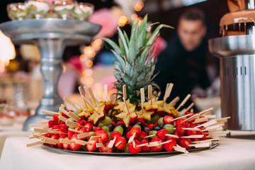 food wedding catering dessert