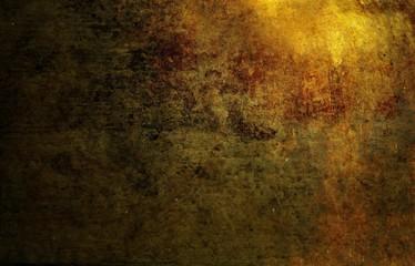 Fototapete - Bronze metal texture background