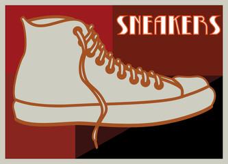 Art déco, sneakers