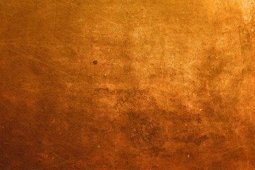 copper surface background