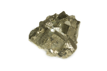 pyrite isolated