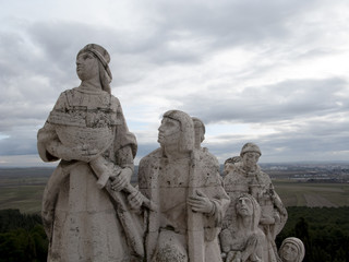 faith, Cerro de los Angeles in Getafe, Madrid. monument inaugura
