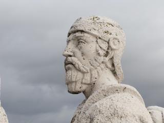 Cerro de los Angeles in Getafe, Madrid. monument inaugurated by