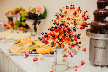 wedding catering dessert
