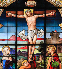 Crucifixion of Jesus Christ on Good Friday