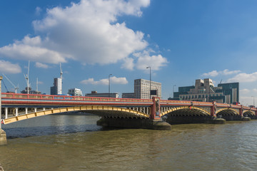 View of Vauxhall Bridge, London, UK