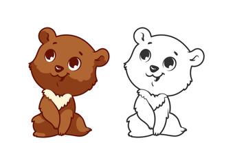 Cute little bear.