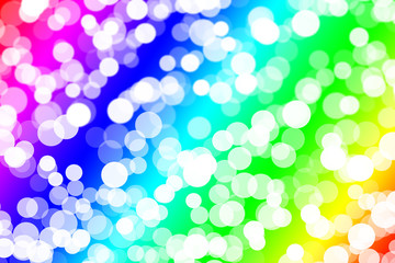 Background bubble rainbow