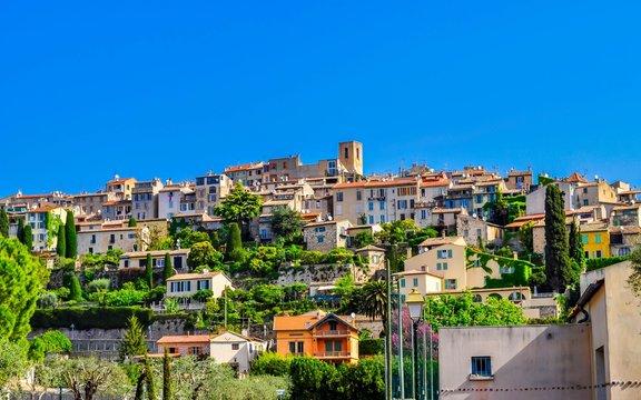 Biot, village médiéval des Alpes-Maritimes, France.
