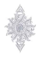 Alchemy magic sign