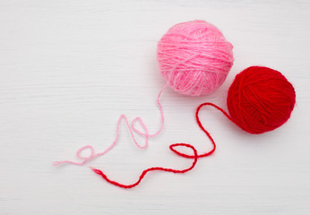 Клубок ниток для вязания