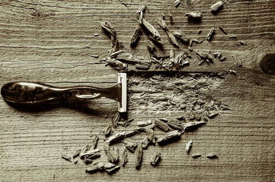 Razor sharp cuts everything in sight