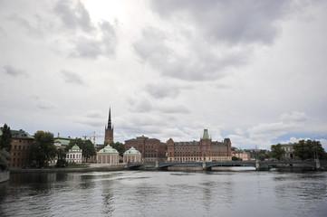 Sweden. The capital of Sweden. Stockholm.