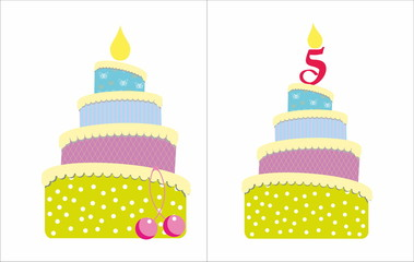5 years old cake