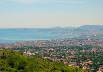 The Gulf of Naples.