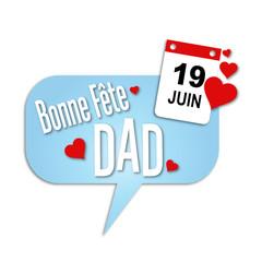 Fête des pères - Bonne fête DAD