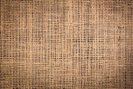 Hemp fabric texture background