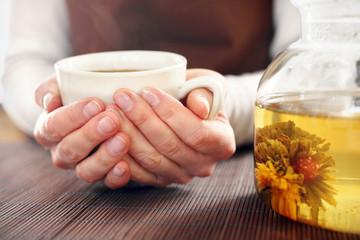 Parzenie herbaty, herbaciarnia