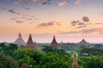 Bagan Myanmar Ancient Pagodas Wall mural