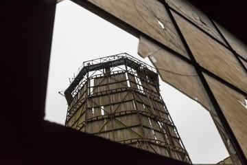 Kühlturm im Kraftwerk